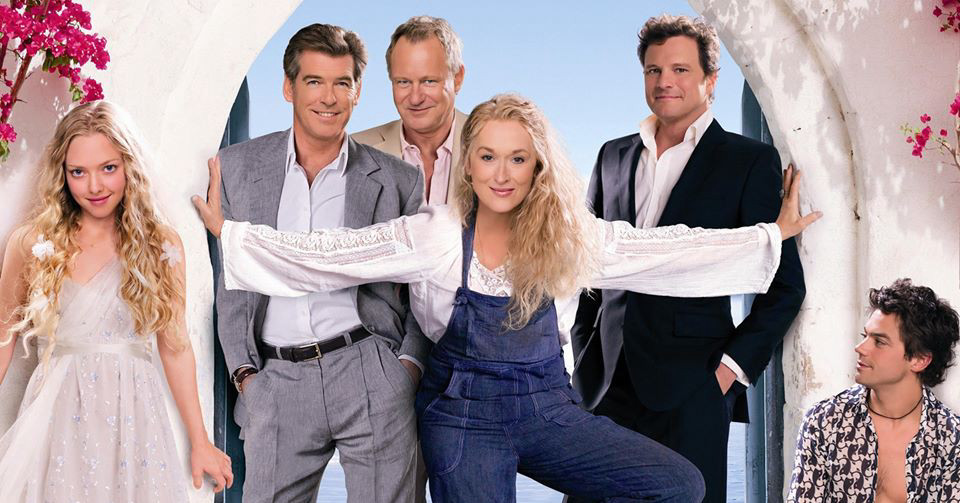 Mamma Mia a Westend Drive-in Cinemaban