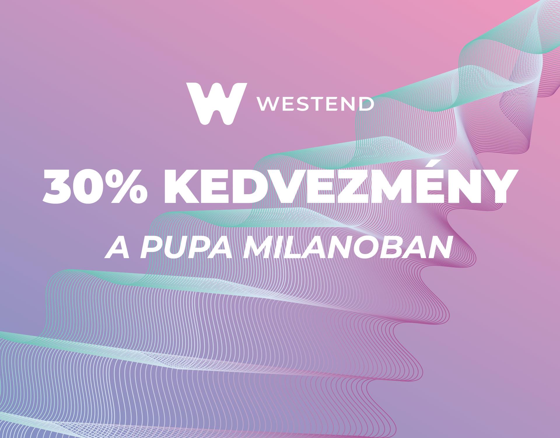 Március 22. - Pupa Milano kupon