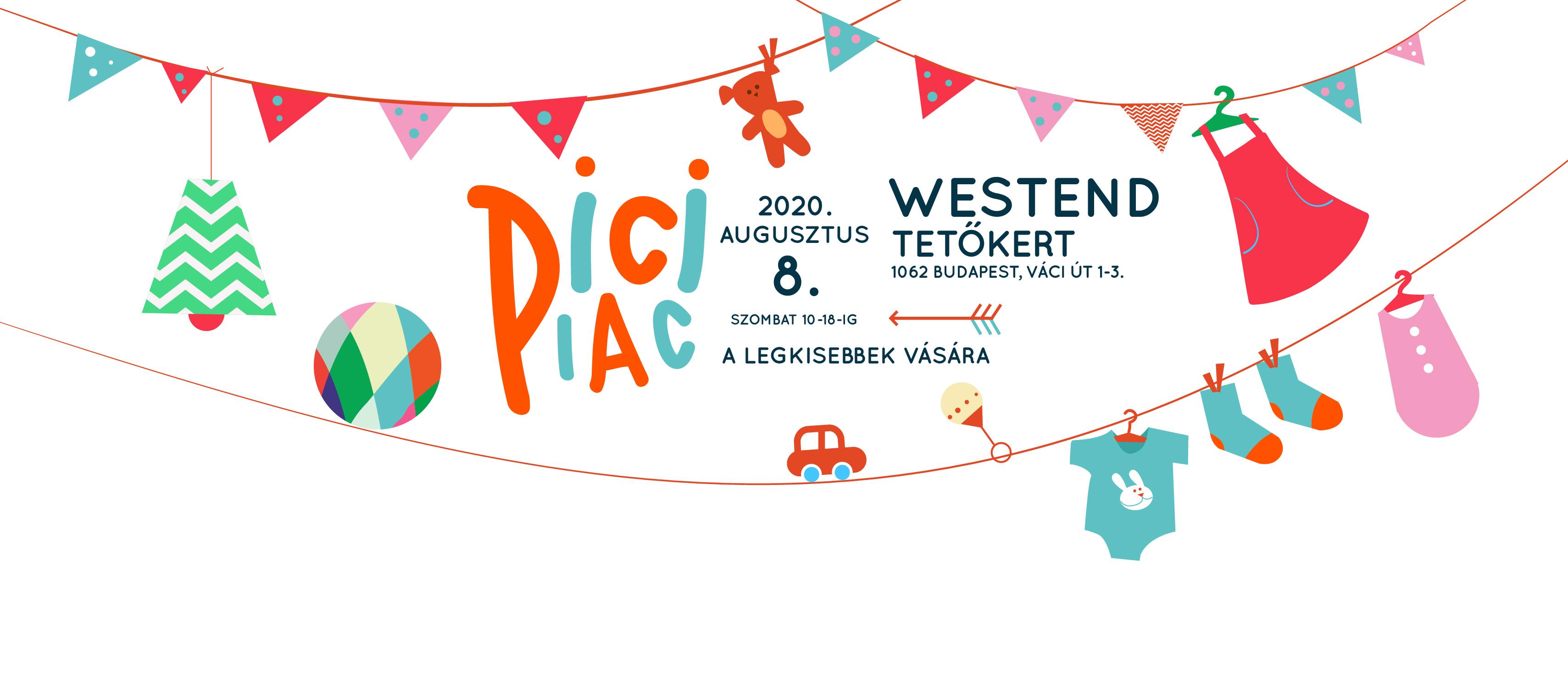Pici Piac a Westend Tetőkertben - 08.08.
