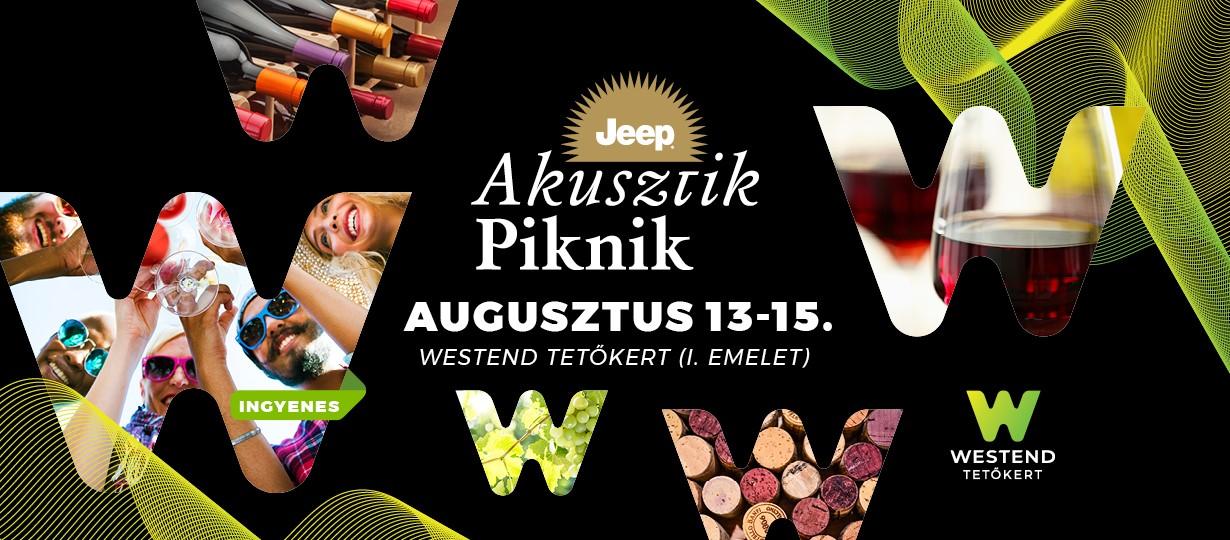 Ingyenes koncertek a Jeep Akusztik Pikniken!