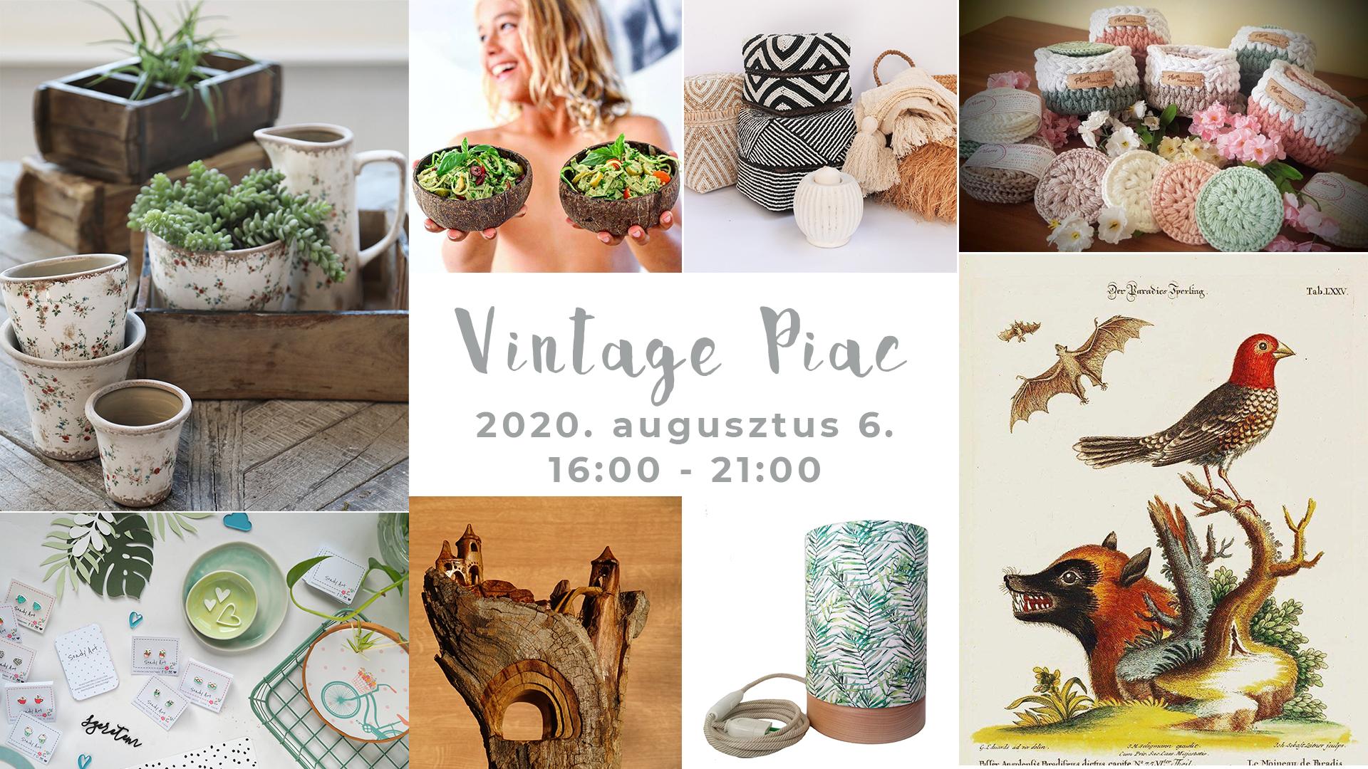 Vintage Piac a Westend Tetőkertben - 08.06.